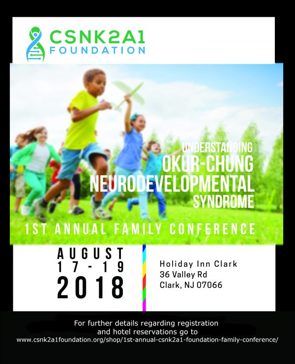 1st CSNK2A1 Foundation Family Conference