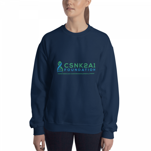 Unisex Logo Sweatshirt in Navy