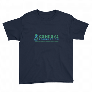 Kids Logo Tshirt in Navy