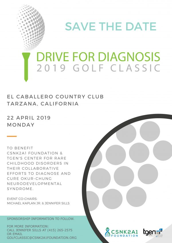 2019 Drive for Diagnosis Golf Classic