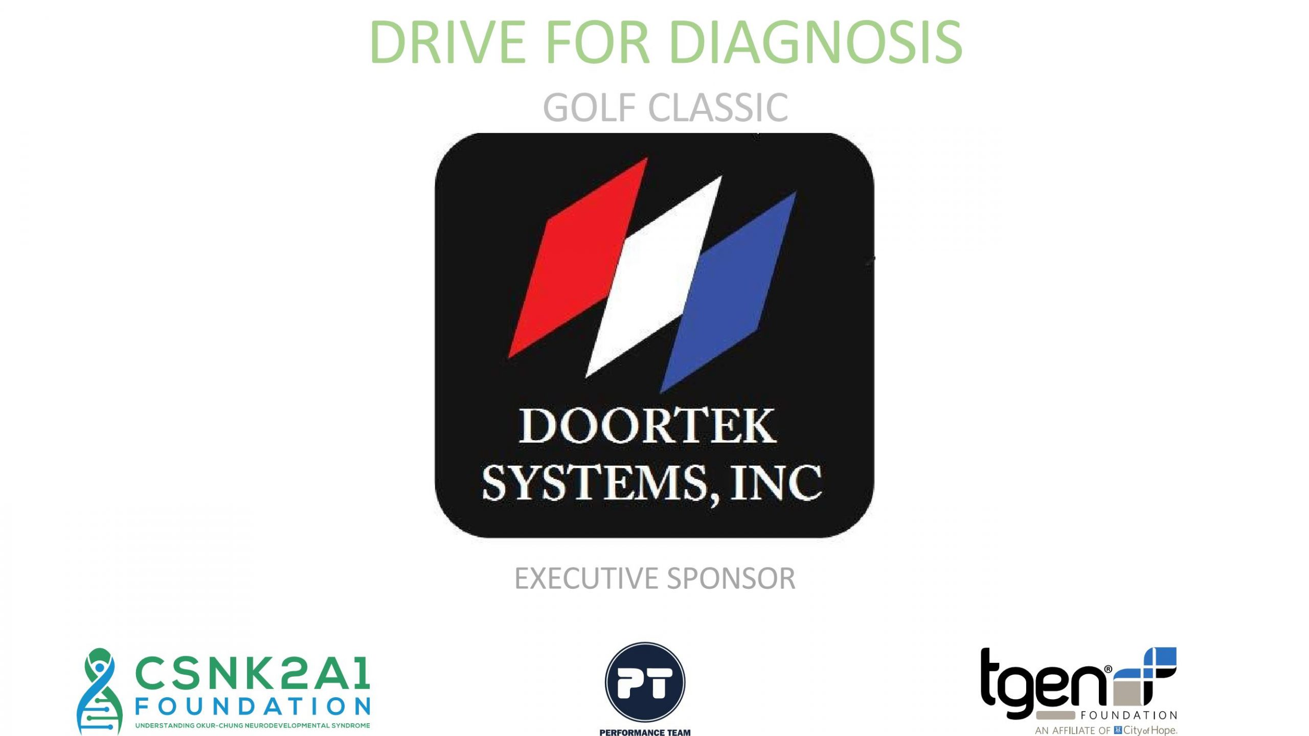 Executive Sponsor - Doortex Systems, Inc.
