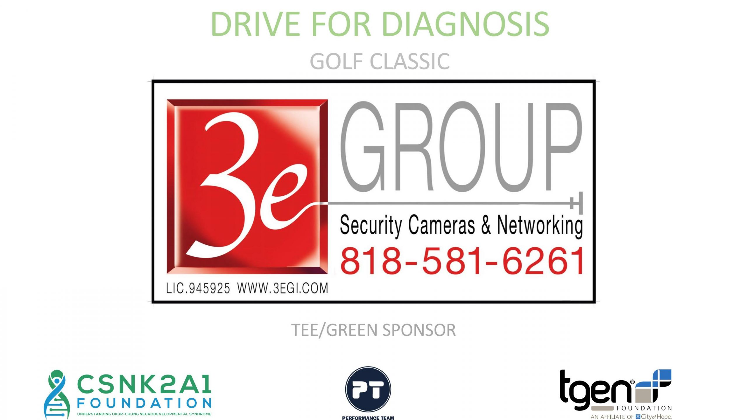 Tee/Green Sponsor - 3e Group