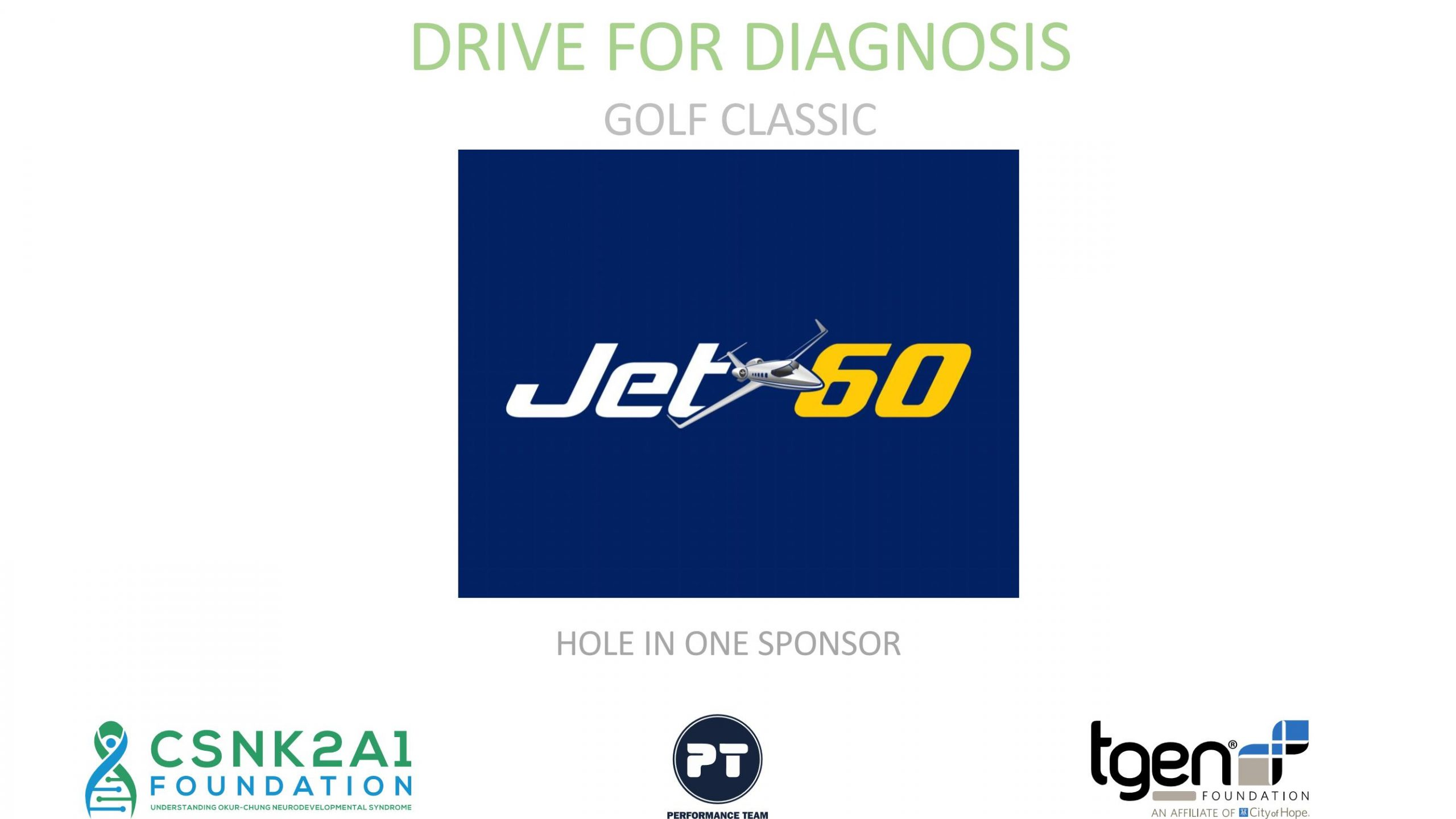 Hole in One Sponsor - Jet 60