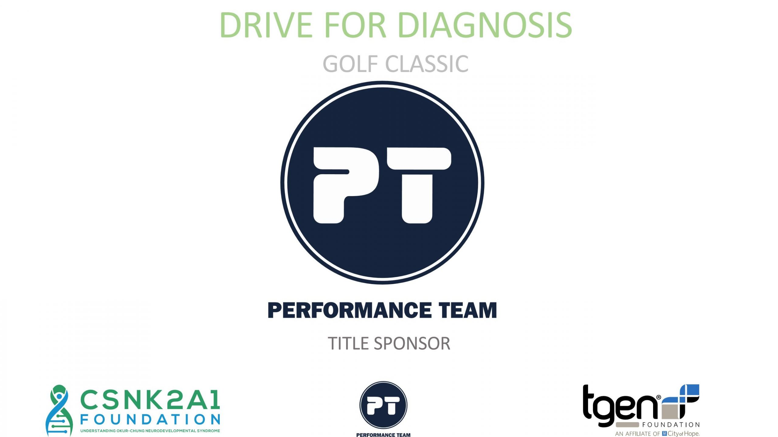 Title Sponsor - Performance Team