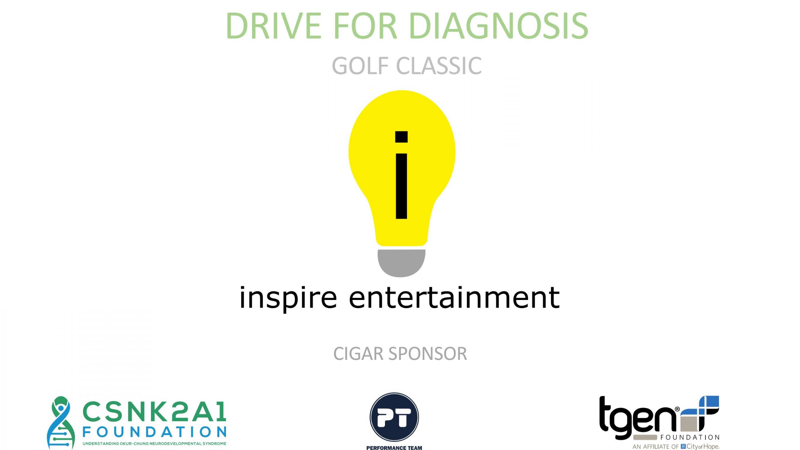 Cigar Sponsor - Inspire Entertainment