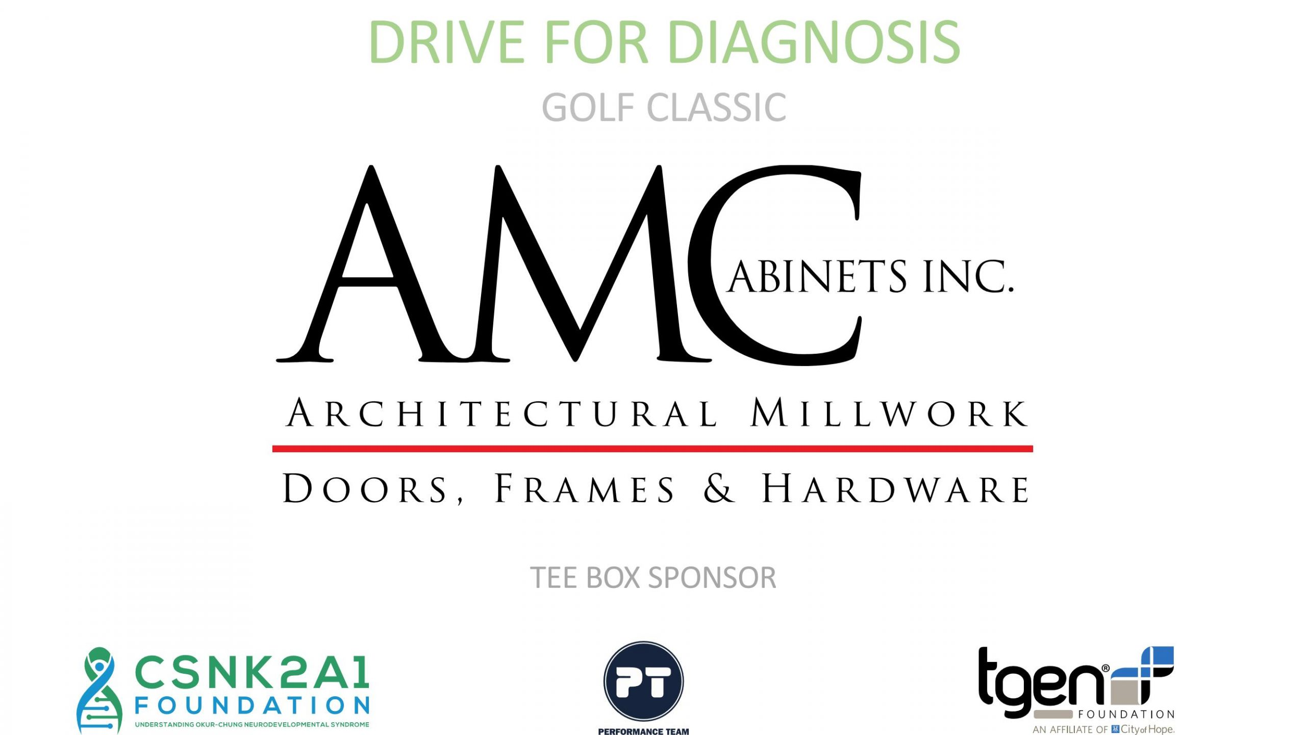 Tee Box Sponsor - AMC Cabinets Inc.