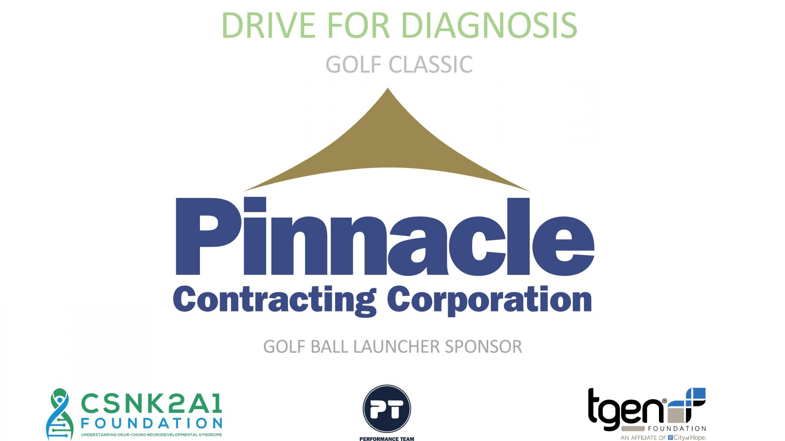 Golf Ball Launcher Sponsor - Pinnacle Contracting Corporation