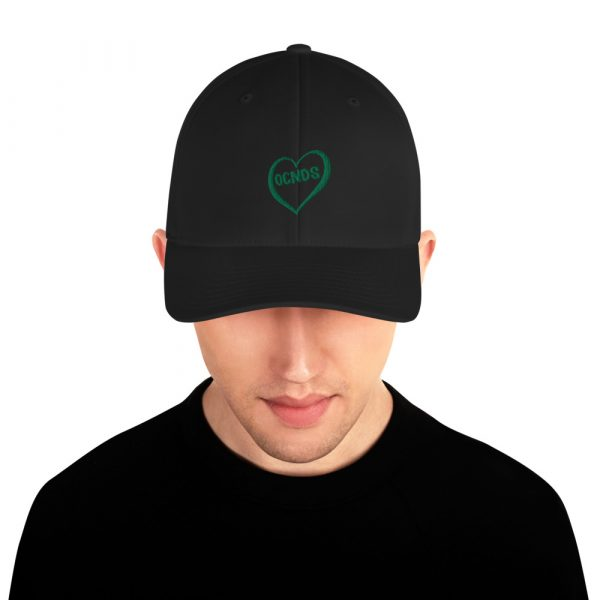 All Heart Dad Hat in Black