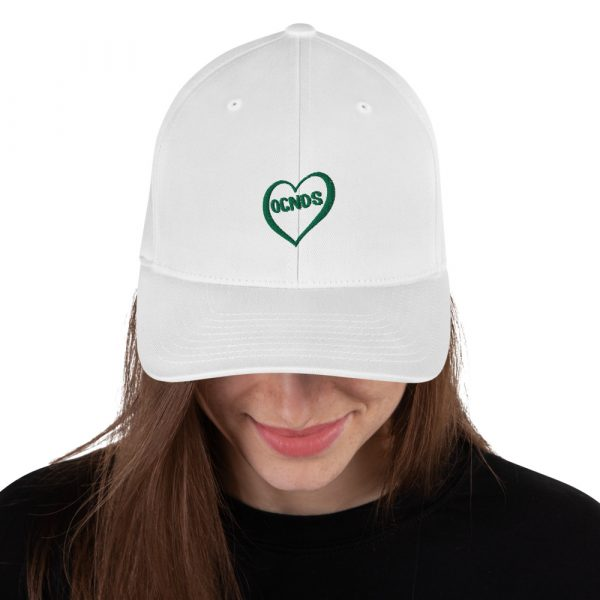 All Heart Dad Hat in White