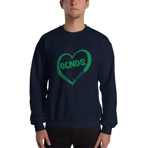 All Heart Design Sweatshirt in Navy