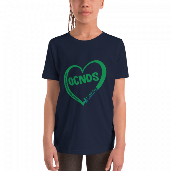 All Heart Youth tshirt in Navy