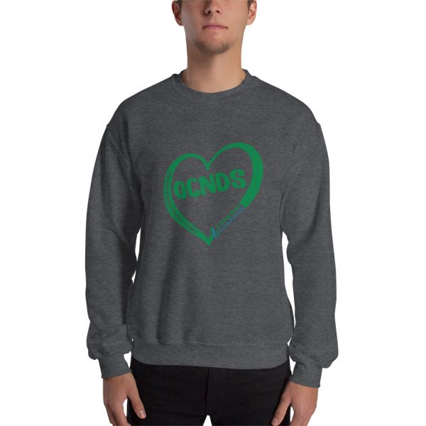 All Heart design Sweatshirt in Dark Heather