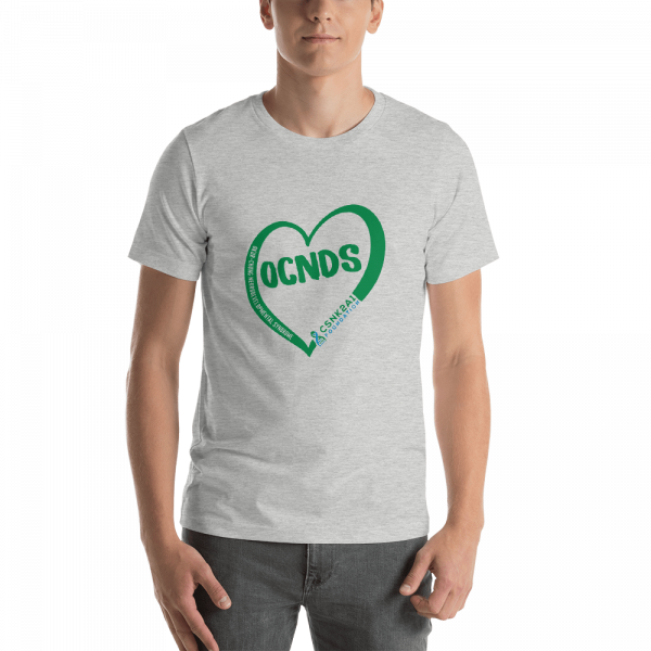 All Heart Unisex tshirt in Athletic Heather