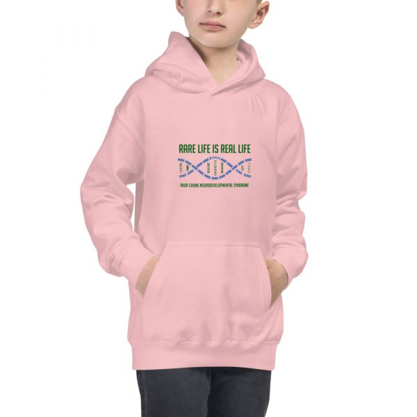 The Ava Kids Hoodie in Pink