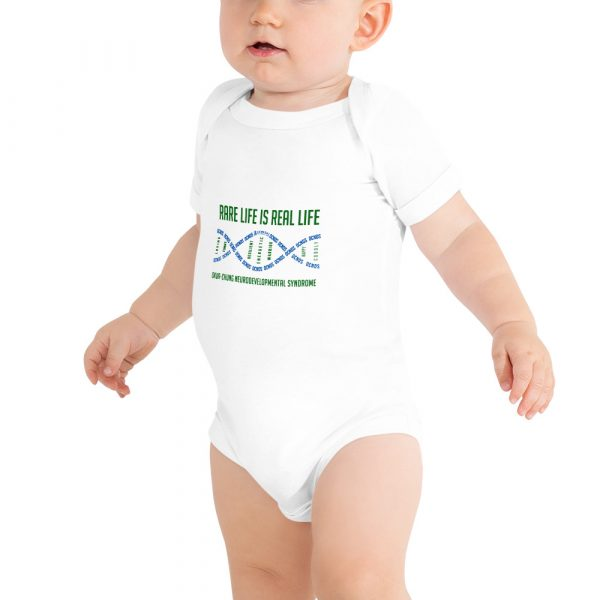 The Ava Baby Onesie in White