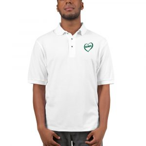 All Heart Polo Shirt in White
