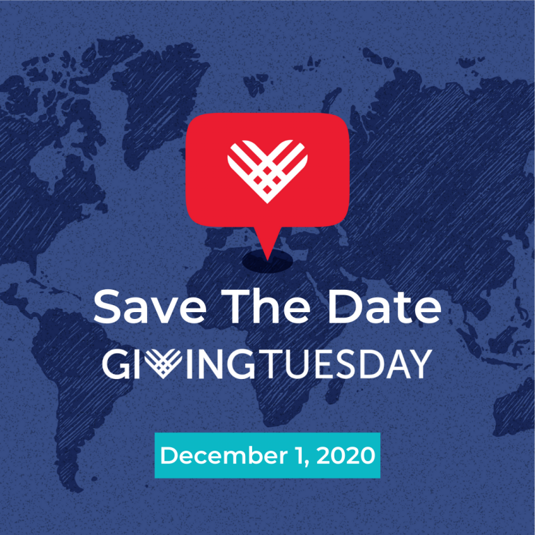Giving Tuesday Save the Date 2020