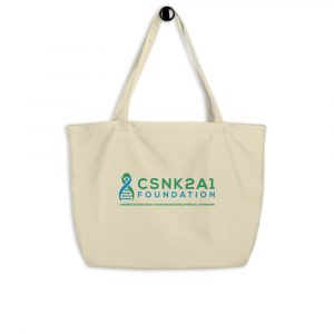 CSNK2A1 Foundation Tote in Oyster
