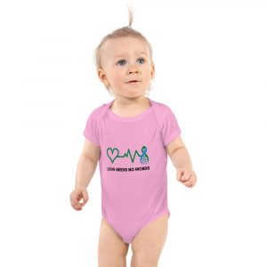 The Harper Baby Onesie in Pink