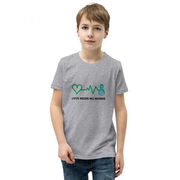 The Harper Unisex Kids T-shirt in Athletic Heather
