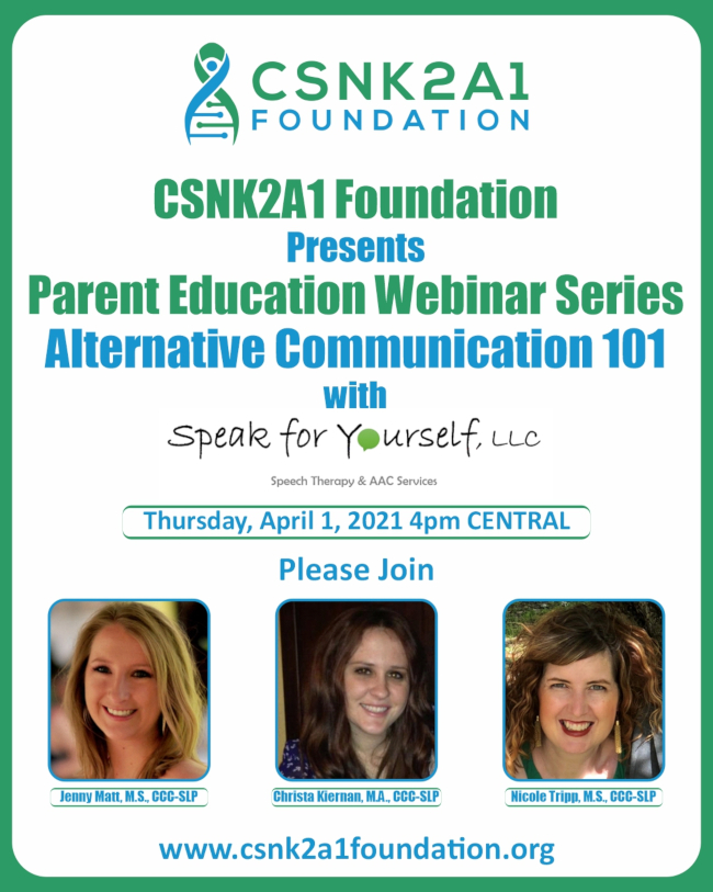 Parent Education Series - Alternative Communication 101