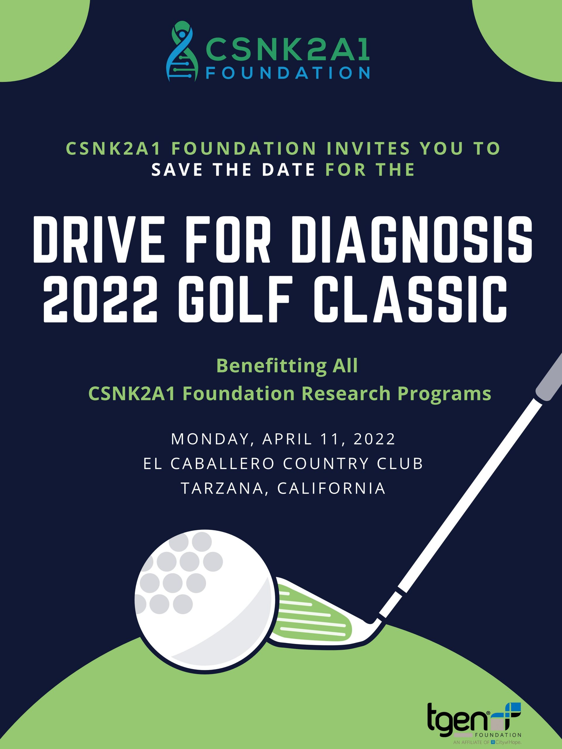 2022 Golf Classic Save the Date