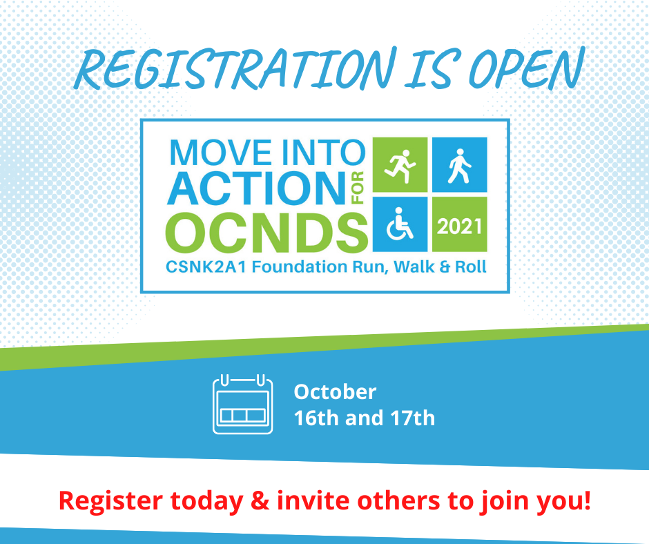Move into Action for OCNDS Run, Walk, & Roll registration